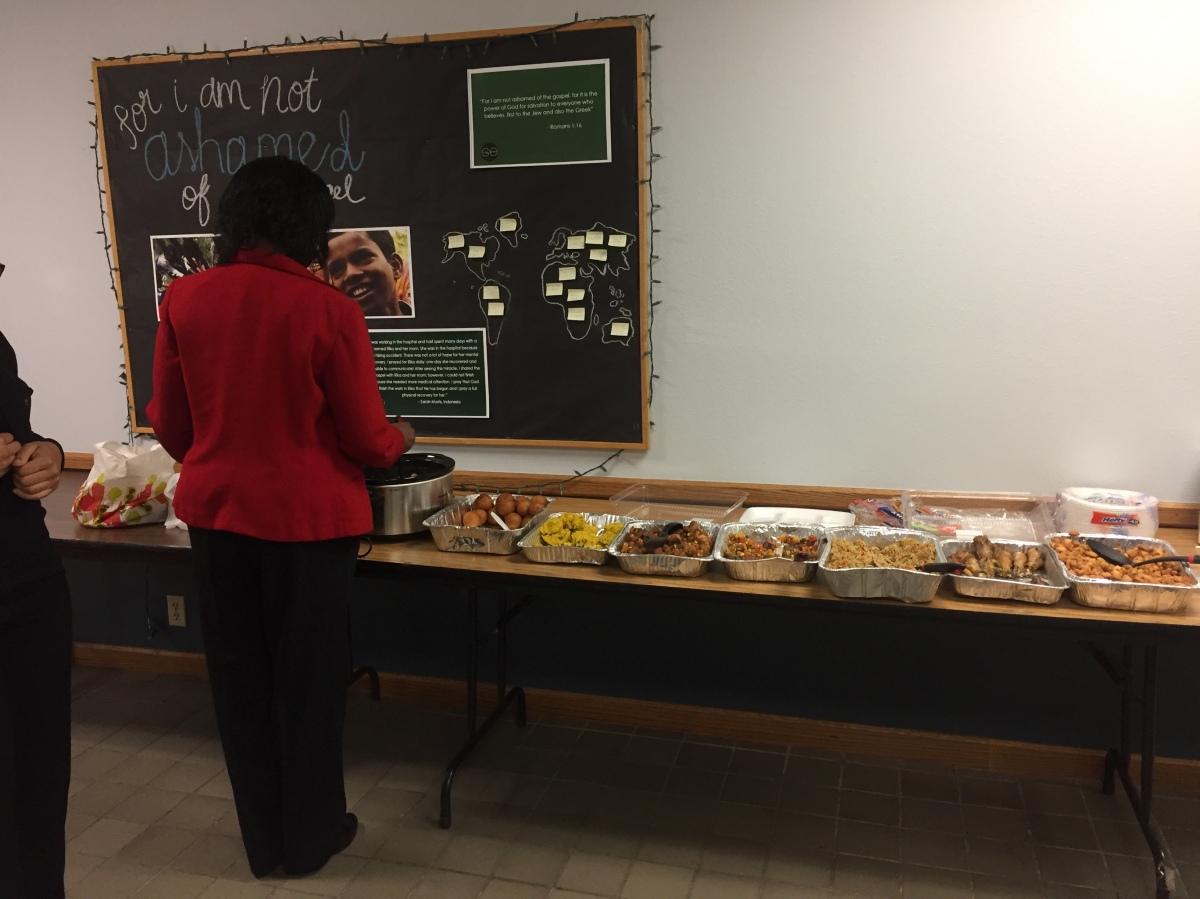 Faculty brings 'a taste of Africa' toOBU