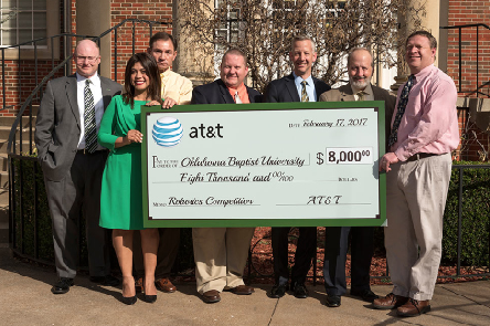 AT&T awards OBU $8,000 for STEM initiative