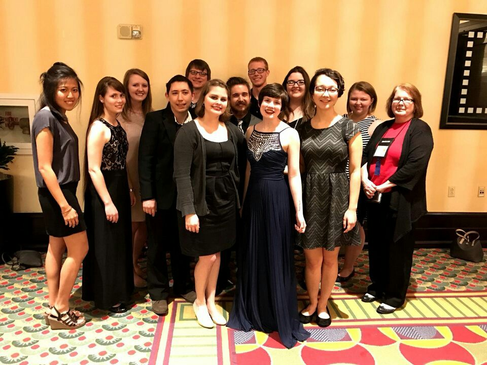 All of the attending members at the Red and Black Gala at the end of the convention. / Courtesy Photo