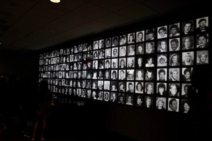 The OKC bombing memorial created a haunting but beautiful tribute to the people who lost their lives.