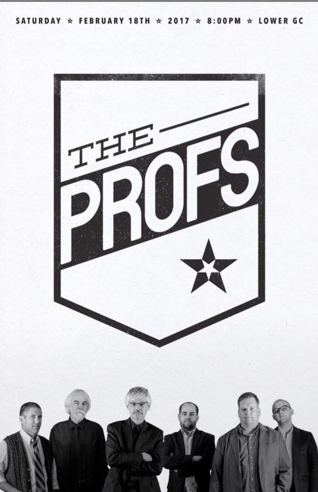 Members of faculty rock band 'The Profs' talk music and their origin as band