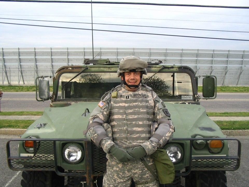 Veterans Day Profile: Dr. Randy Ridenour illustratesservice