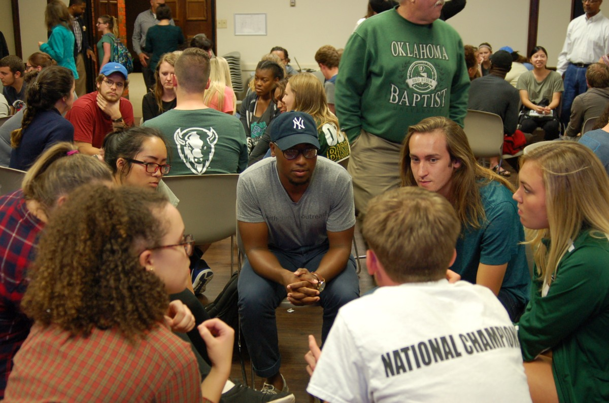 SGA hosts third Let's Talk event