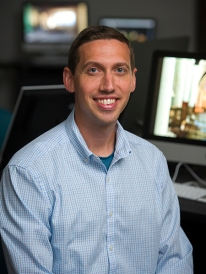 Benjamin Baxter, assistant professor of animation and motion graphics
