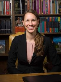 Dr. Lindsey Panxhi, assistant professor of English