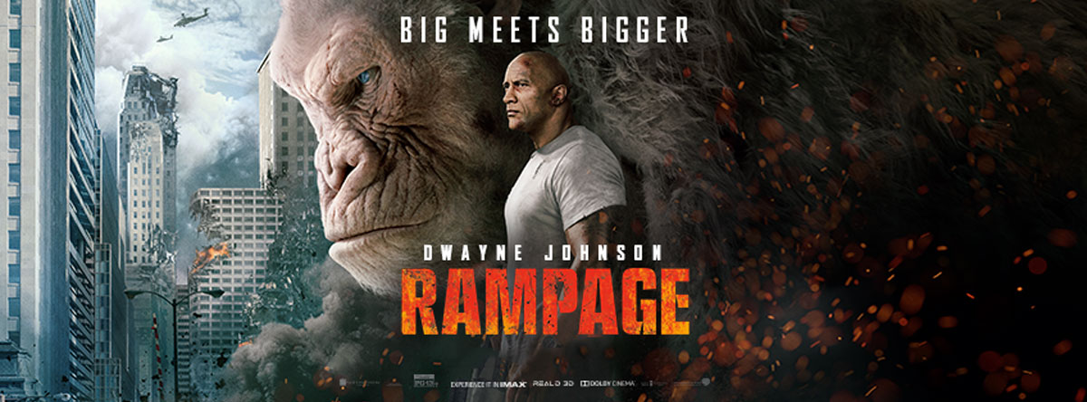 """Review: """"Rampage"""" v. """"Pacific Rim: Uprising"""" They both get the action movie job done, but which one isbetter?"""
