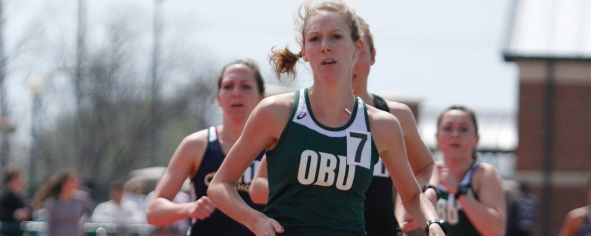 OBU Track and Field running the good race