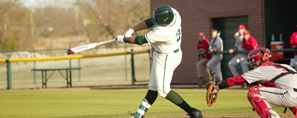 Bison baseball shuts out Northeastern at home