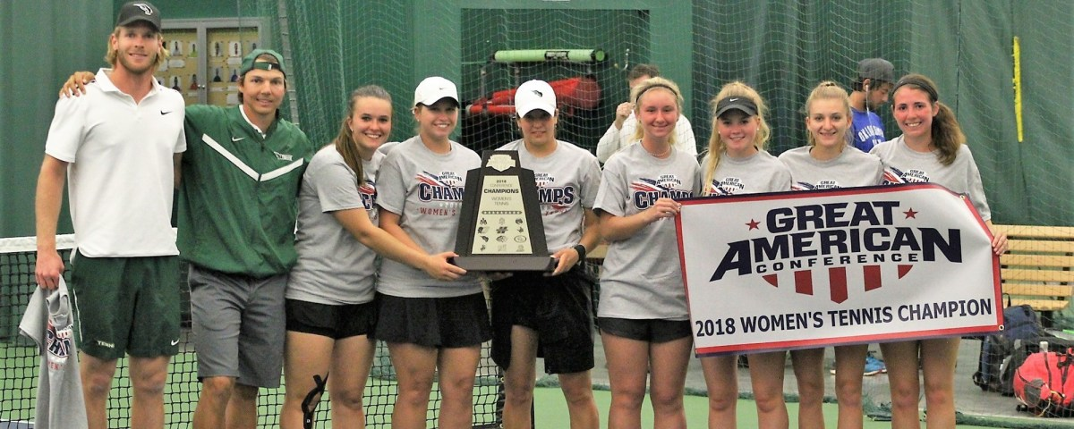 Women's Tennis brings home the GAC title; men's team falls toHarding
