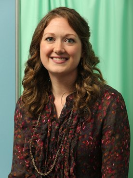 Megan Smith, assistant professor of nursing pediatrics