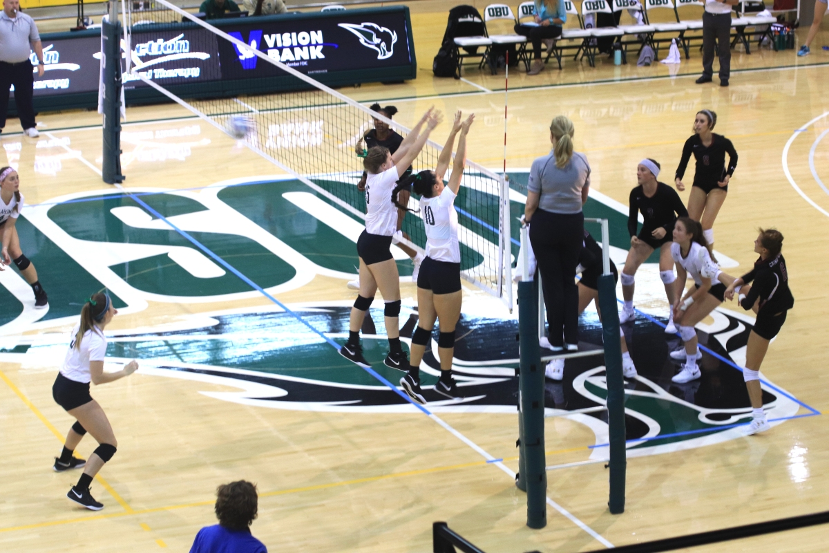 Lady Bison volleyball spends week on the road