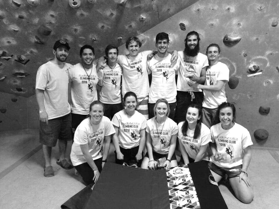 Rock climbing club welcomesall