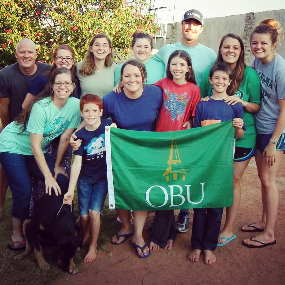 From the field: OBU students encourage Kimbroughs inZambia