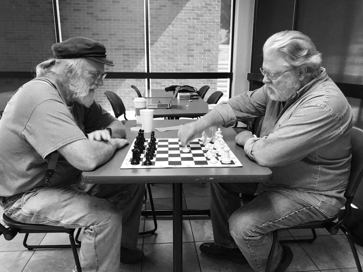 Former professors are chessmates