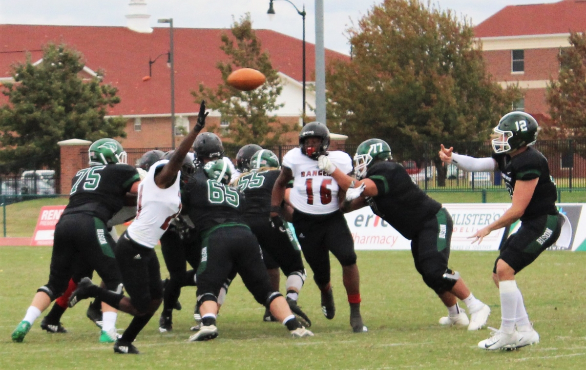 Bison football earn victory on homecoming