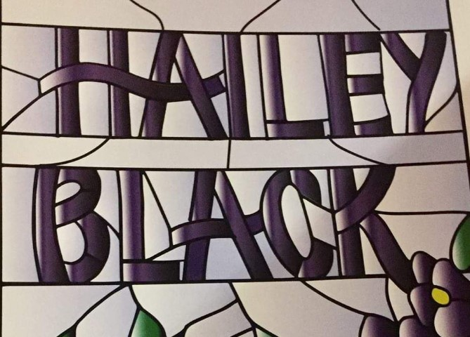 """Inspired by many: art show by Hailey Black"""