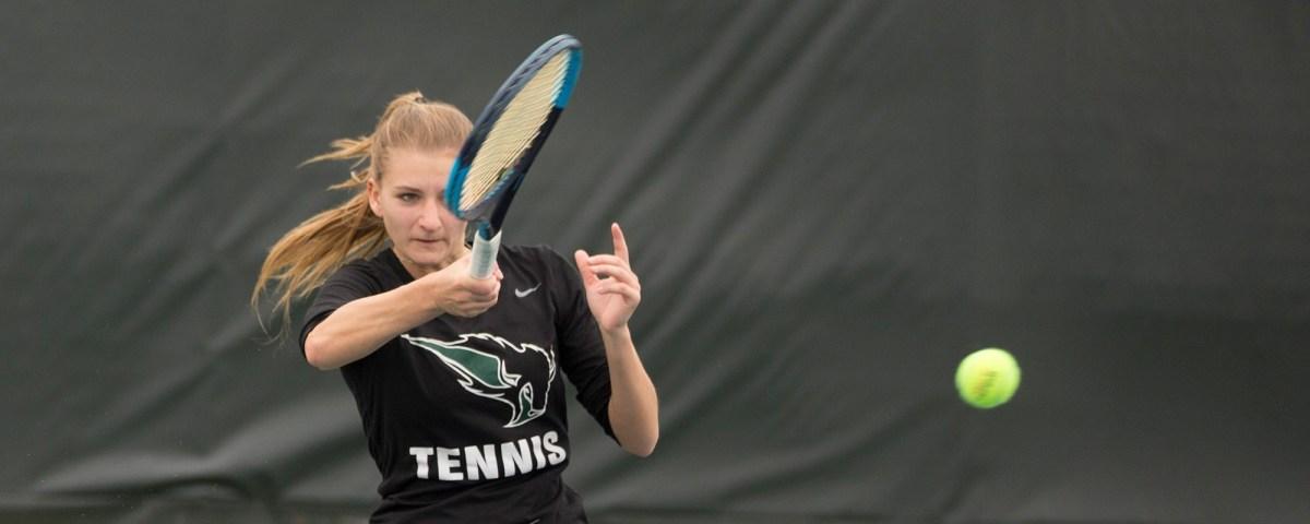 OBU Tennis team earns victory inSpringfield