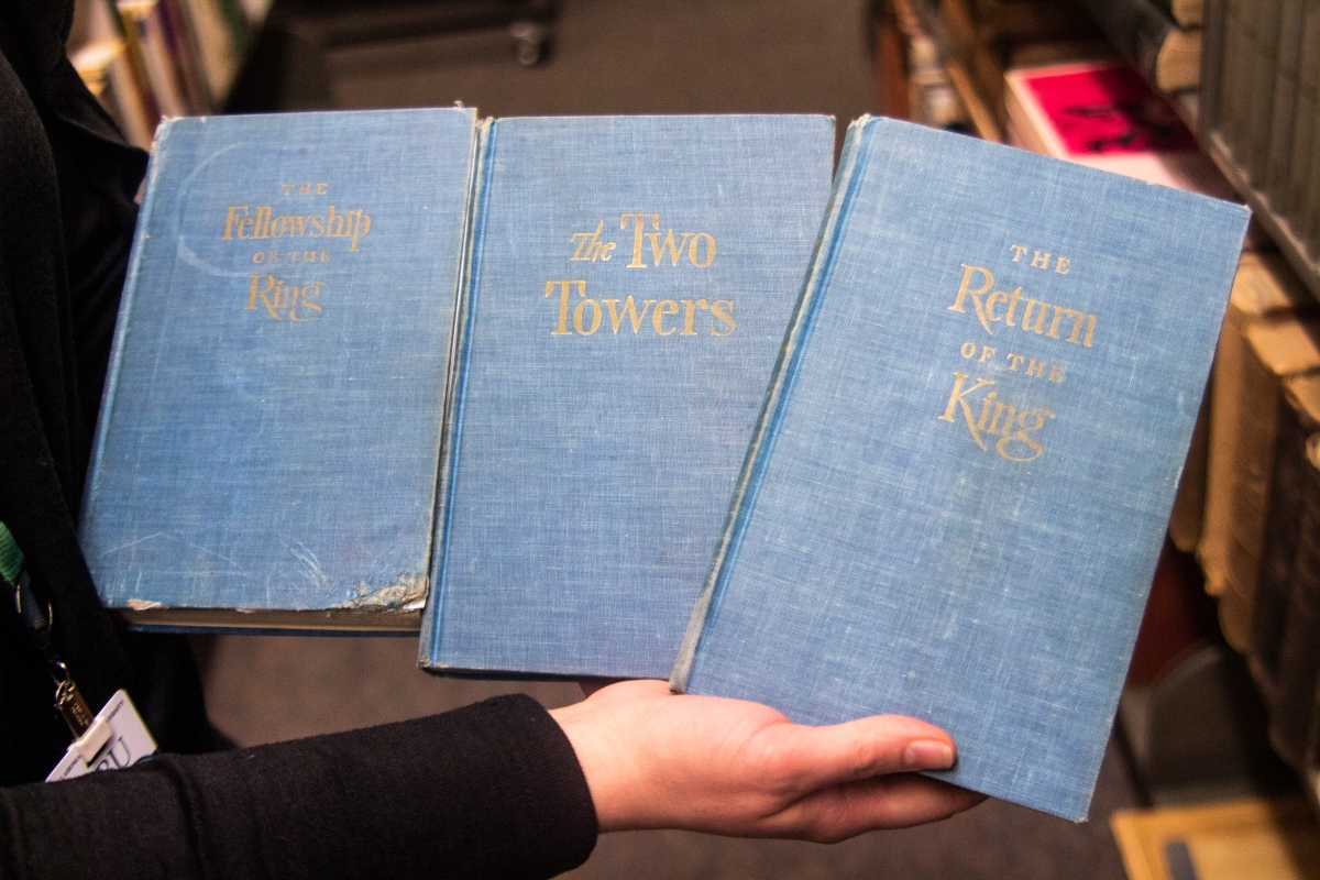 Long-lost first edition Tolkien books returned to OBU