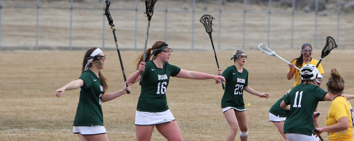 Lady Bison Lacrosse routs Adams State