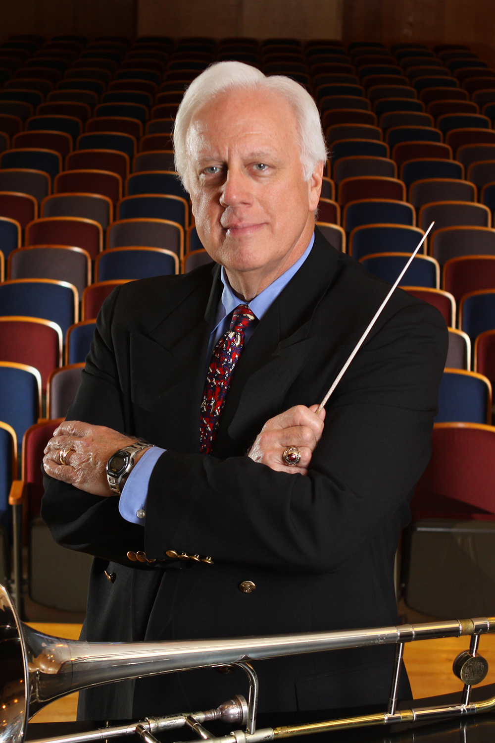 Orchestra celebrates Hansford's final concert before retiring