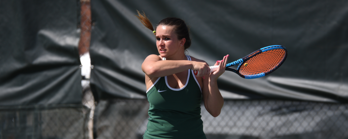 Moosbacher and Bison Tennis prepare for GACTitle